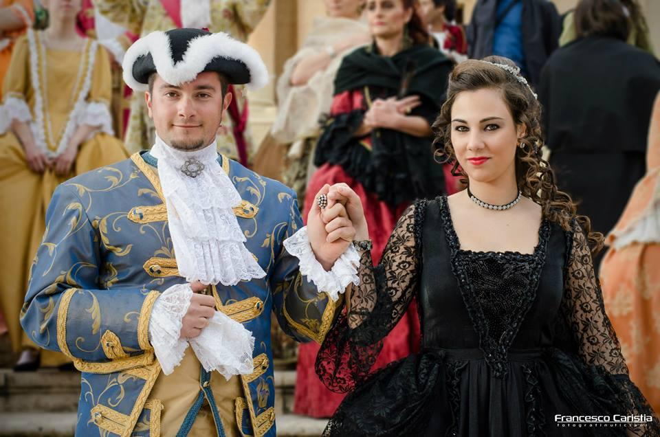 Particolare Infiorata Corteo Barocco